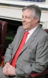 Northern Ireland First Minister Peter Robinson...