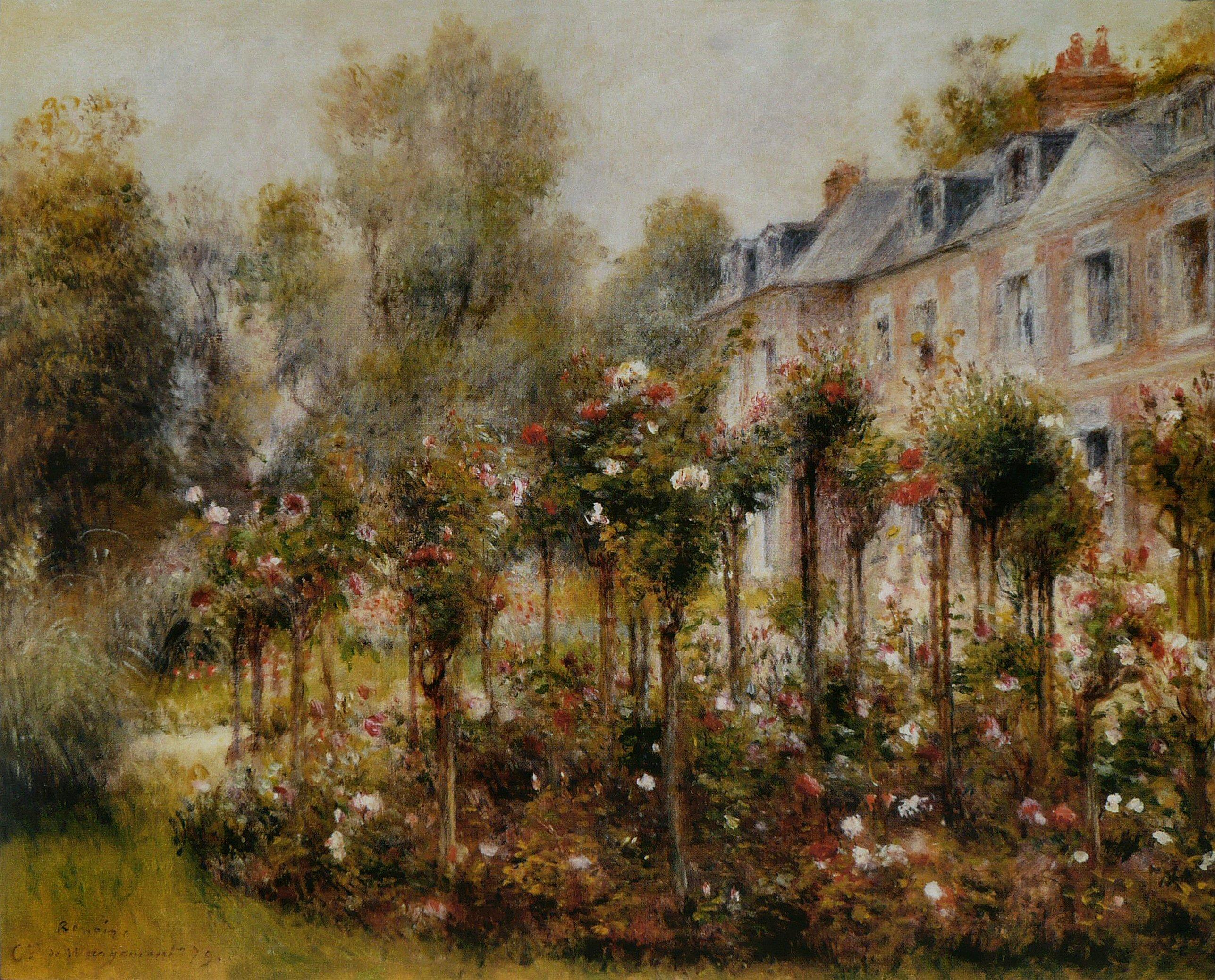 File Pierre Auguste Renoir Roseraie 224 Wargemont Jpg Wikimedia Commons