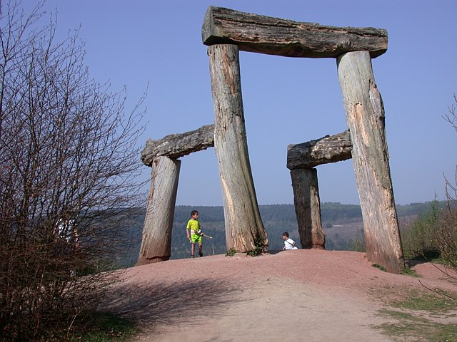Place - The Sculpture Trail Forest of Dean - geograph.org.uk - 1023452