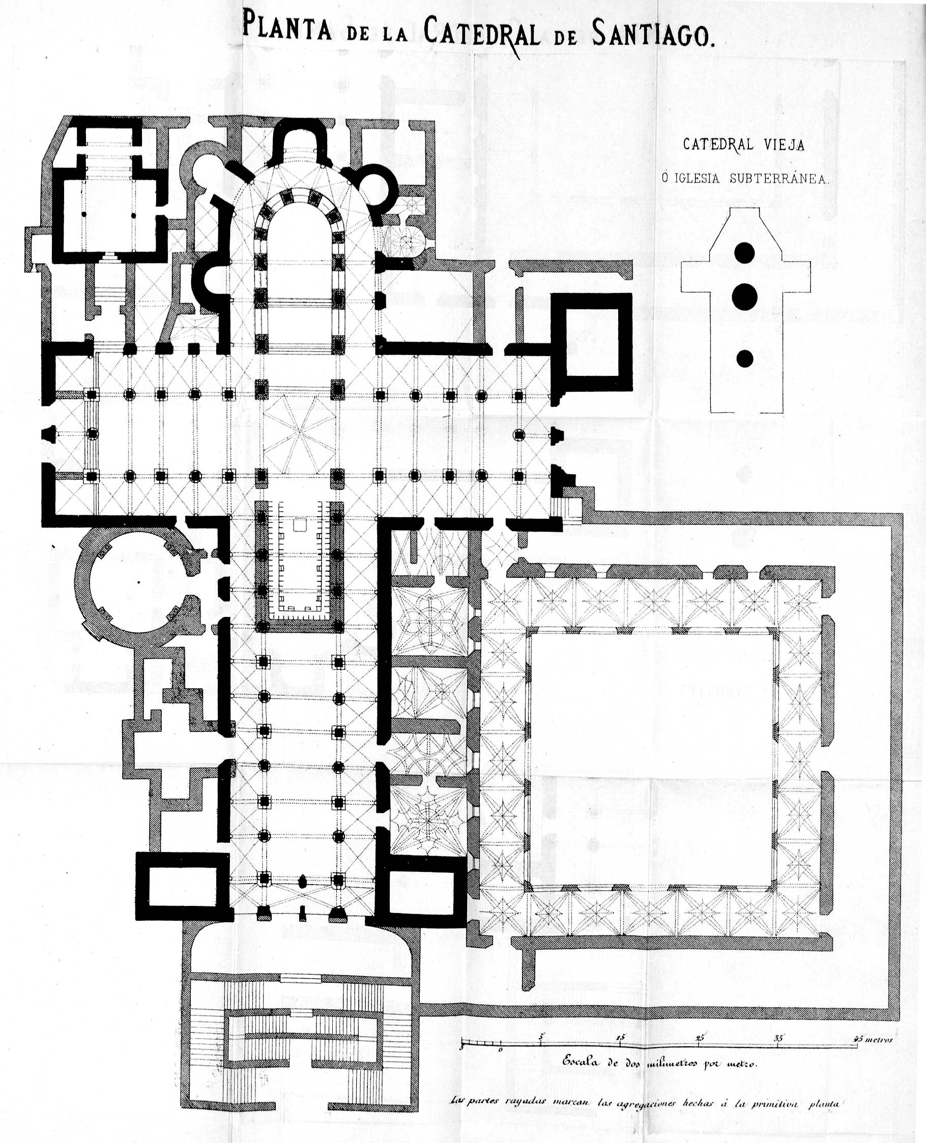 Villa Siena Floor Plans Archivo Planta De La Catedral De Santiago Descripcion