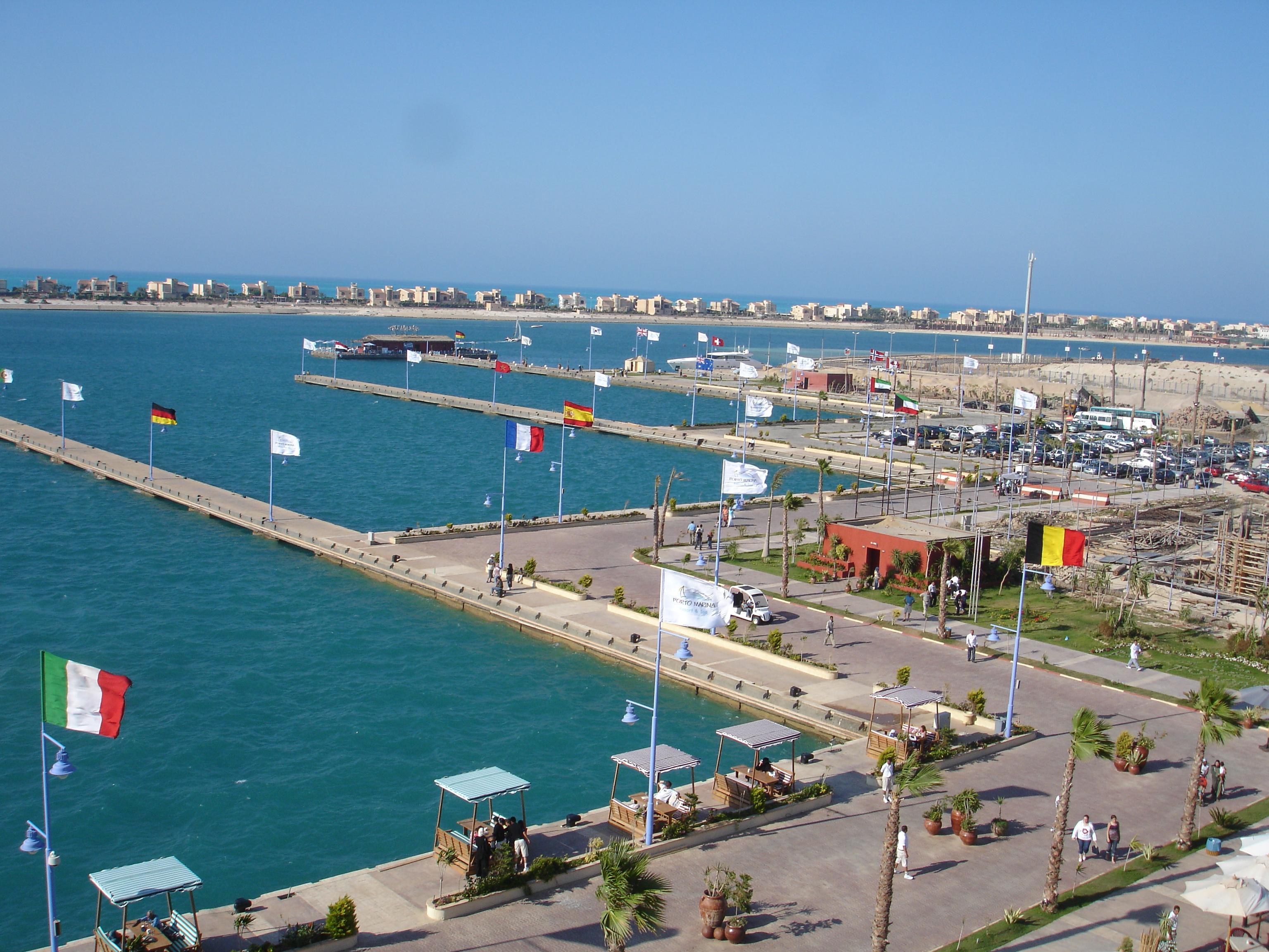 картинка фотография курорта Эль-Аламейн в Египте