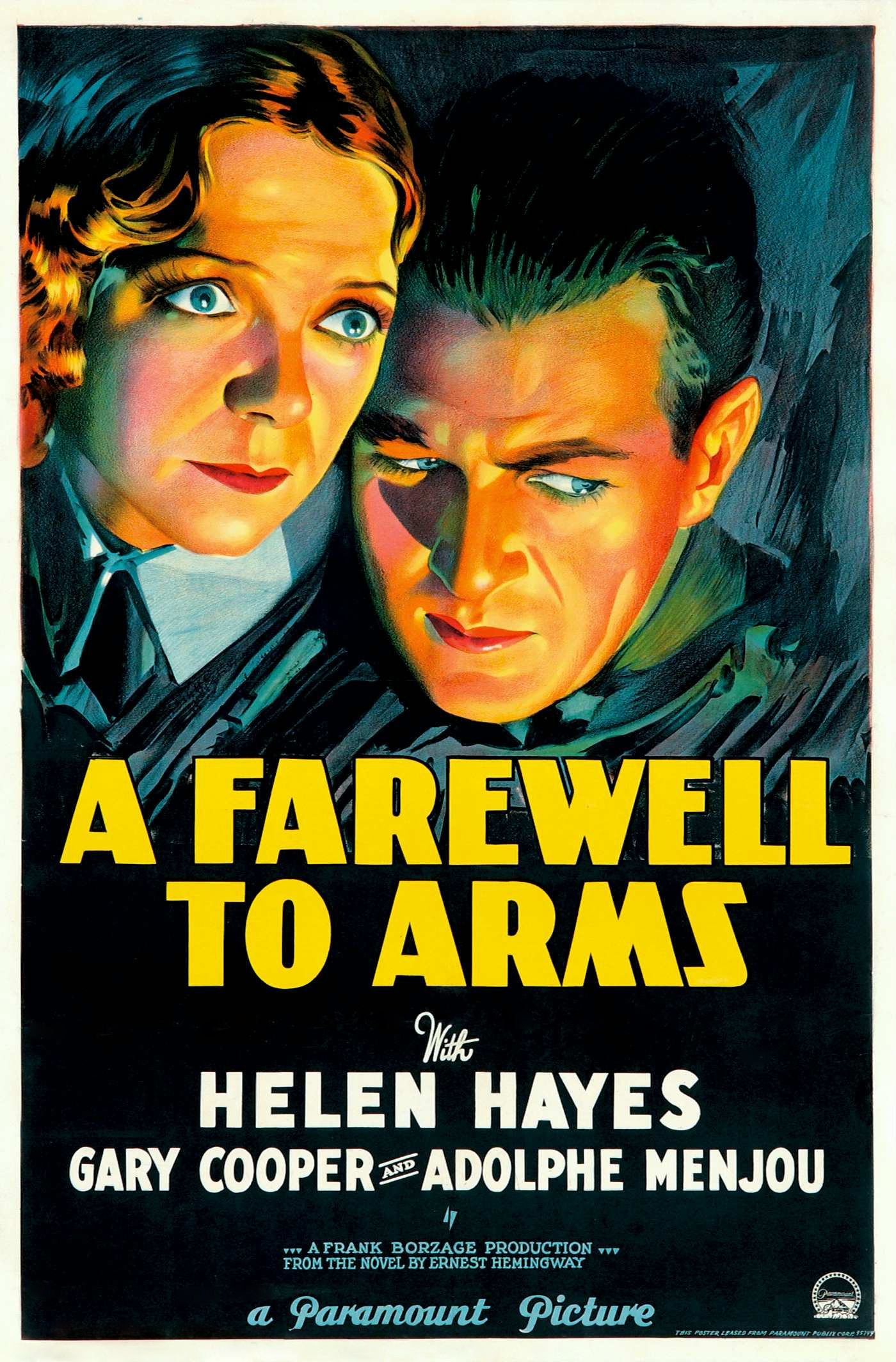 war in a farewell to arms Watch online full movie a farewell to arms (1932) for free an american ambulance driver and an english nurse fall in love in italy during world war i director: frank borzage writers: benjamin glazer (screenplay), oliver hp garrett (screenplay) stars: gary cooper, helen hayes, adolphe menjou.