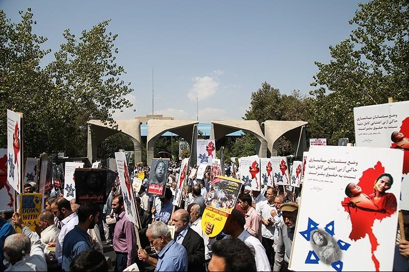 Protest Rally Held in Tehran in Support of Myanmar Muslims-20.jpg