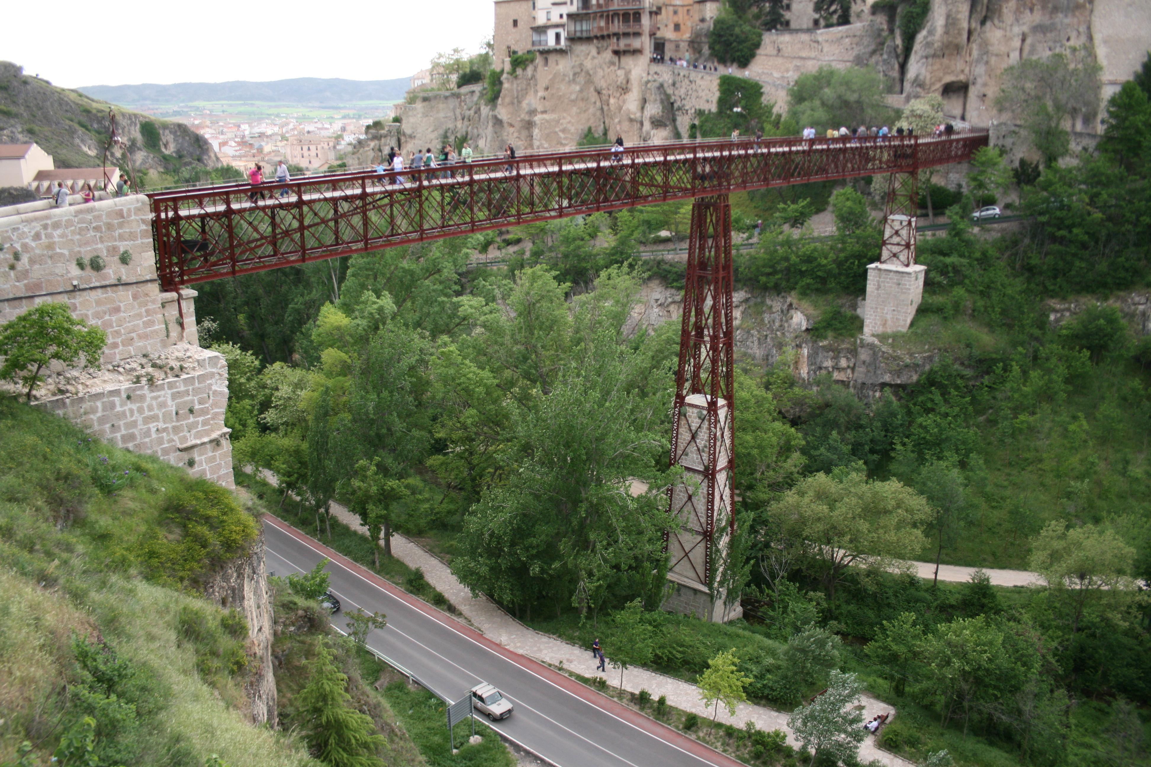 Archivo:Puente de San Pablo (Cuenca).jpg - Wikipedia, la ...