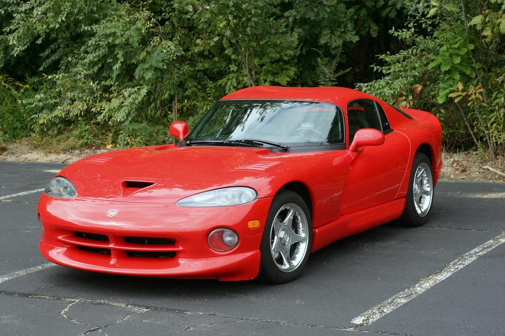 Chrysler Viper Red Paint Code