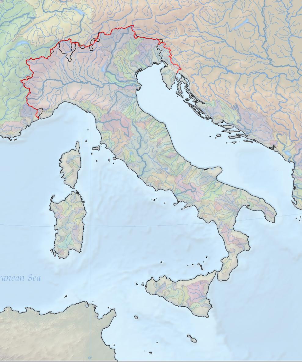 Cartina Fisica Italia Golfi.Italia Regione Geografica Wikipedia