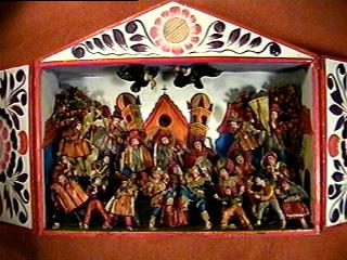 Retablo ayacuchano wikipedia la enciclopedia libre for Ceramica artesanal peru