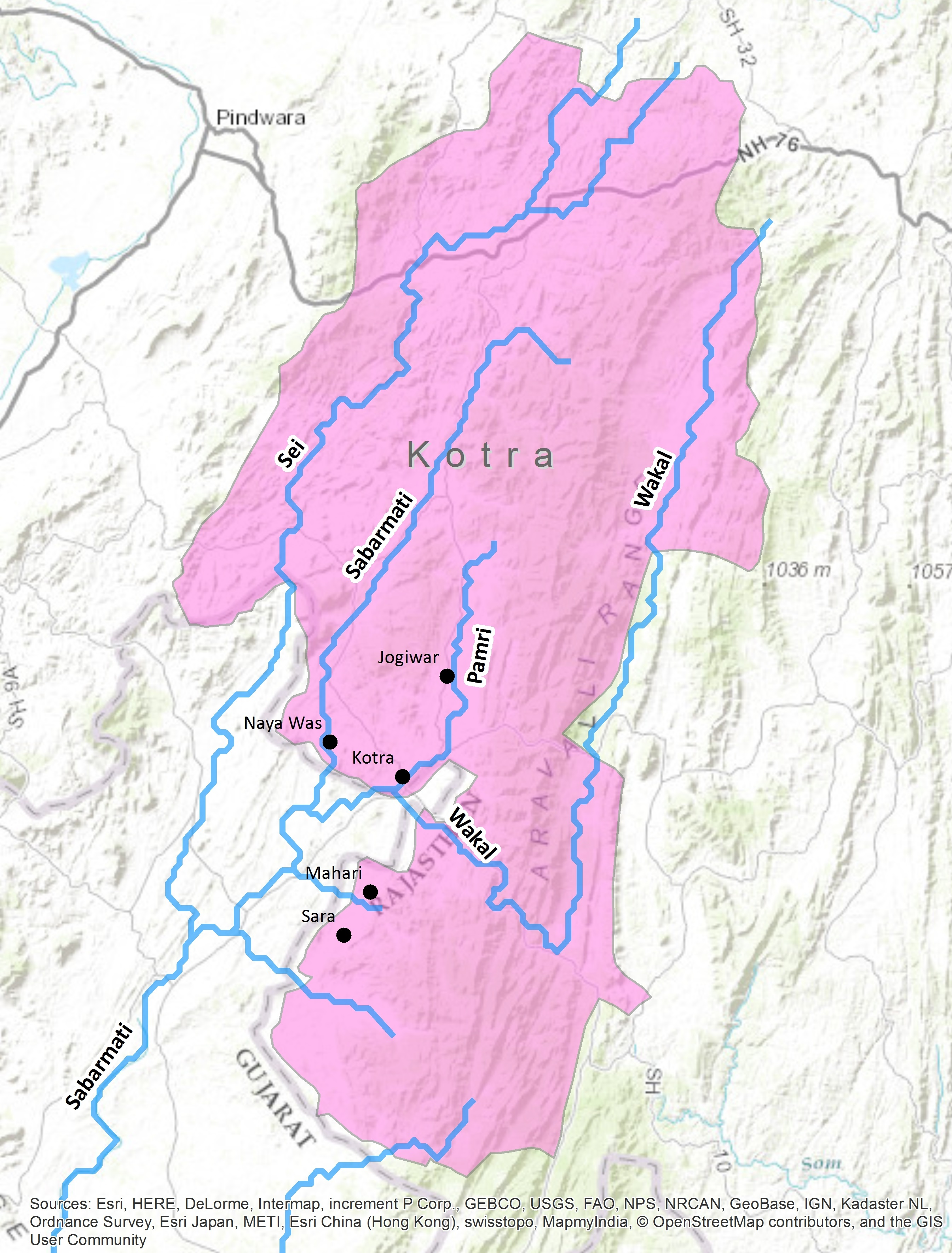 Filerivers Of Kotra Tehsil Udaipur District Rajasthan Indiajpg