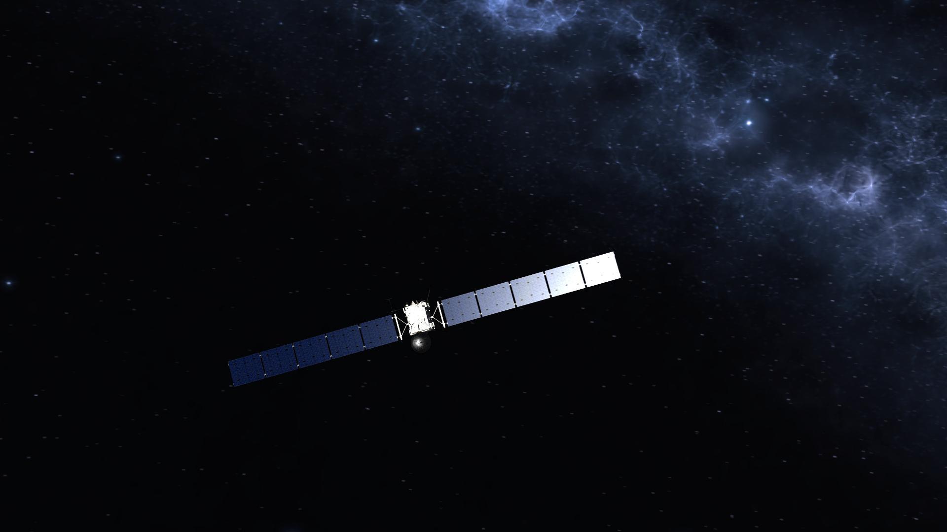 european space agency's rosetta spacecraft - HD1440×810