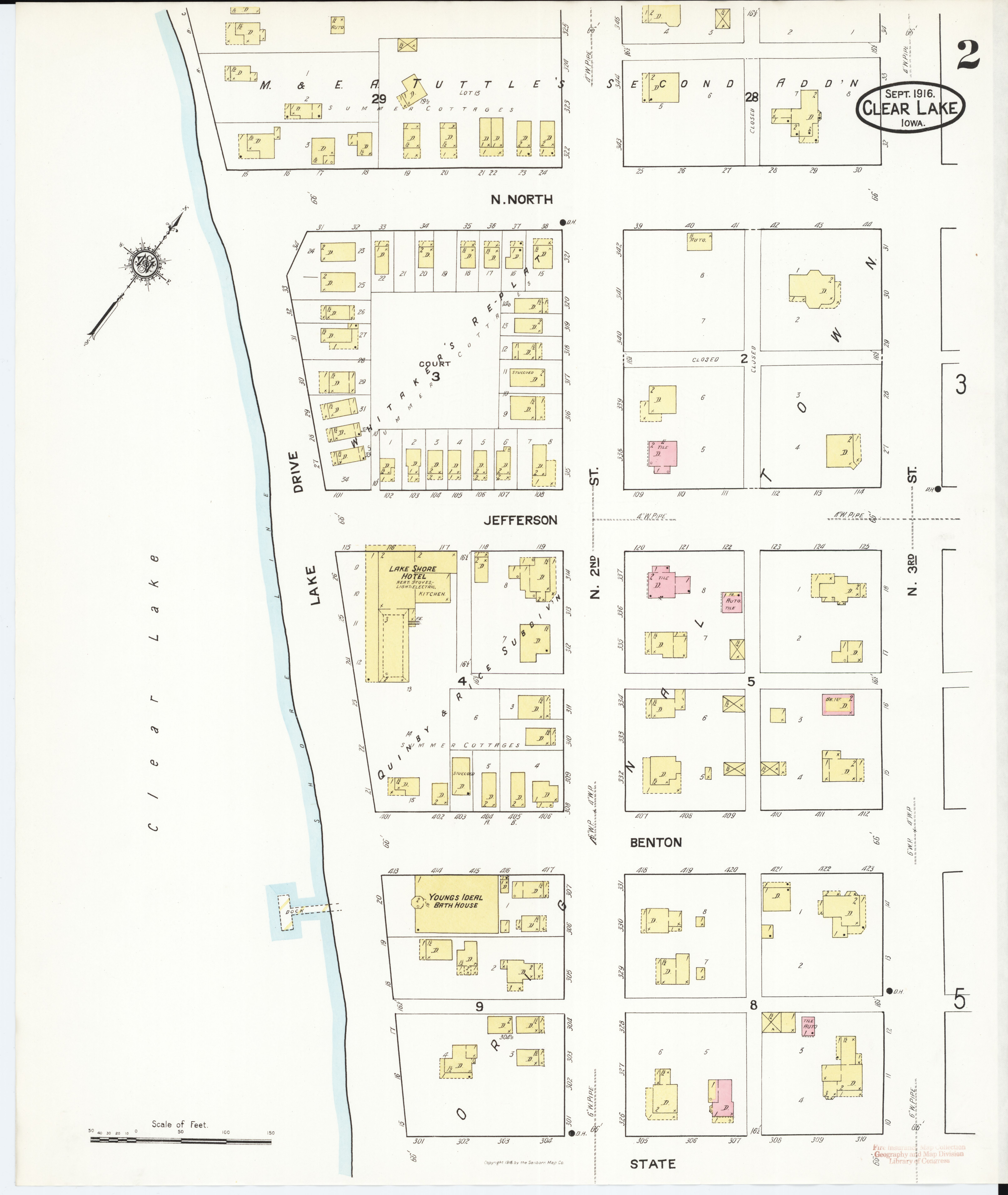 File Sanborn Fire Insurance Map From Clear Lake Cerro Gordo County