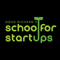 school for startups black logo