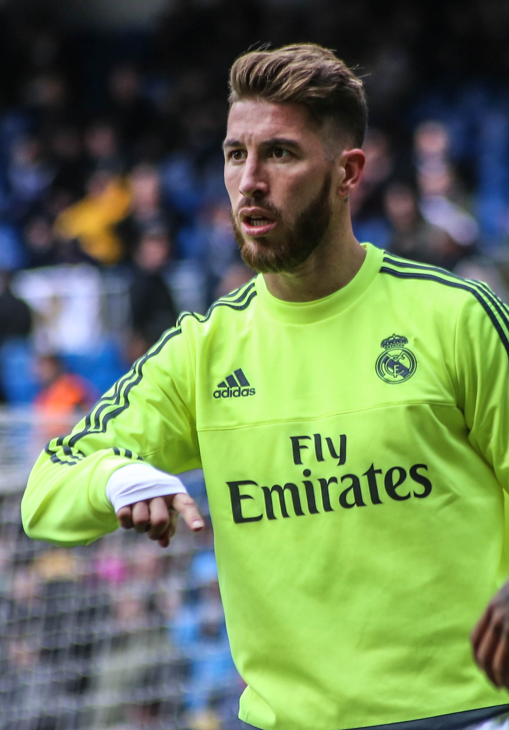 The 32-year old son of father José Maria Ramos and mother Paqui Ramos Sergio Ramos in 2018 photo. Sergio Ramos earned a 25 million dollar salary - leaving the net worth at 60 million in 2018