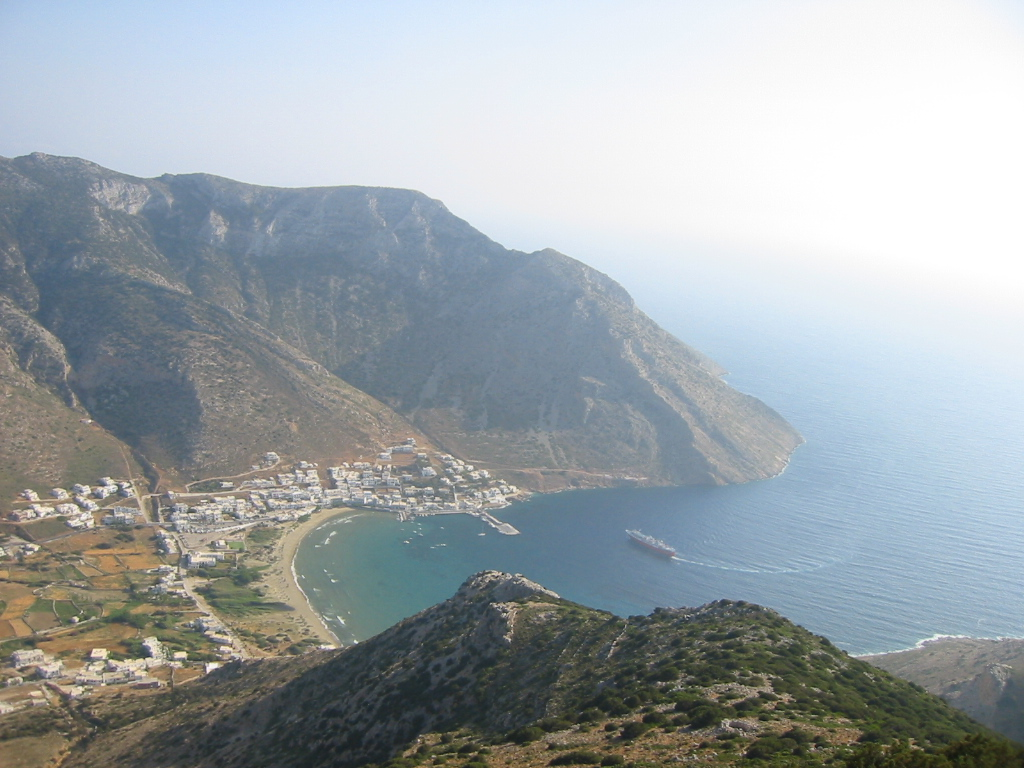 Depiction of Sifnos