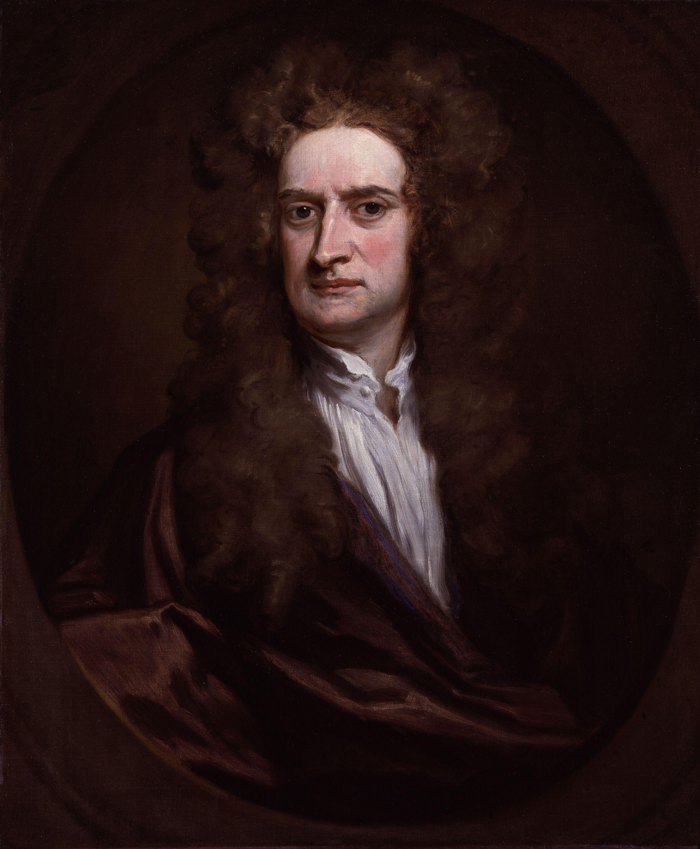 Portrait of Sir Isaac Newton, Godfrey Kneller, 1702