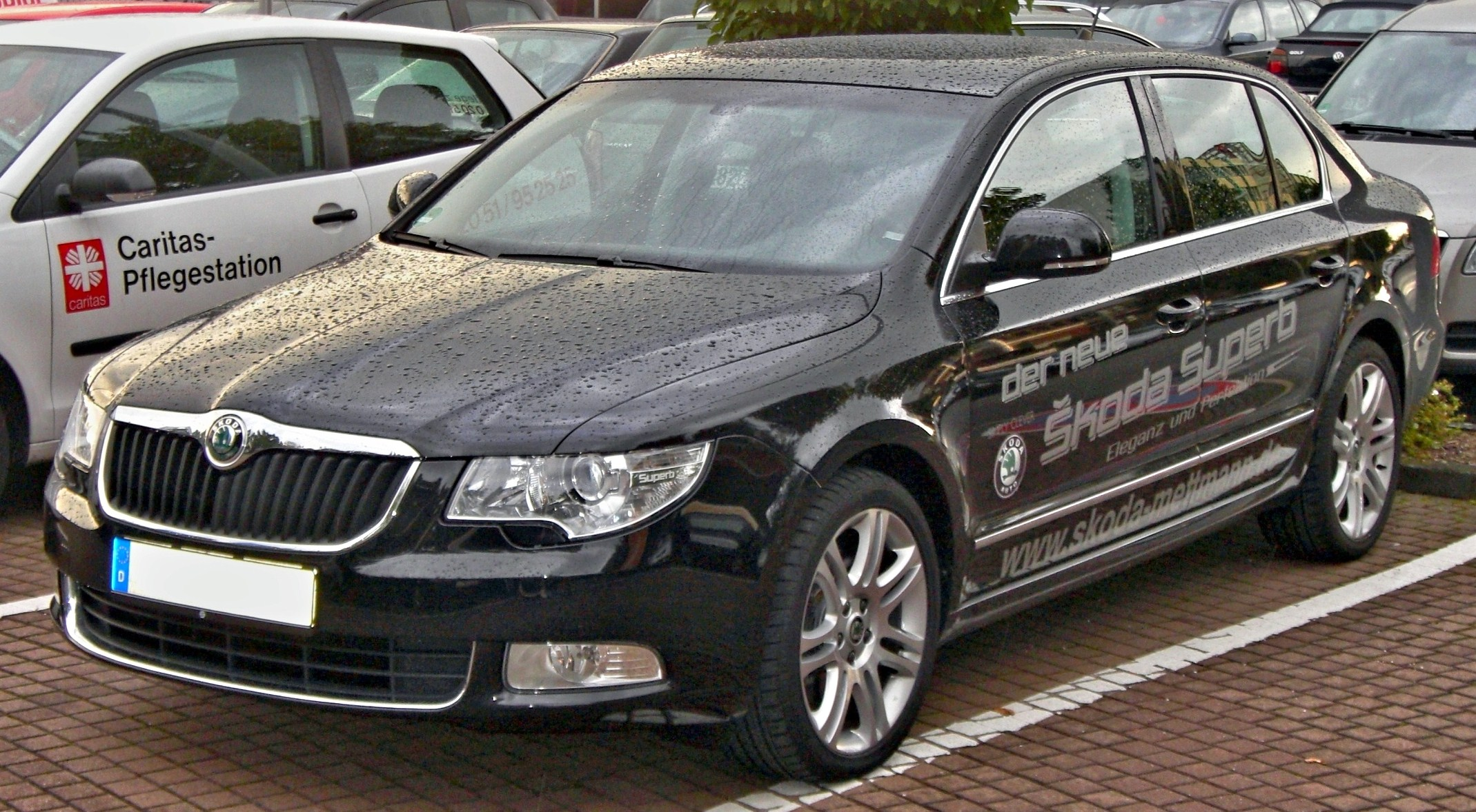 File Skoda Superb Front Jpg