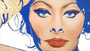 Sophia Loren'face by Juan Kiti