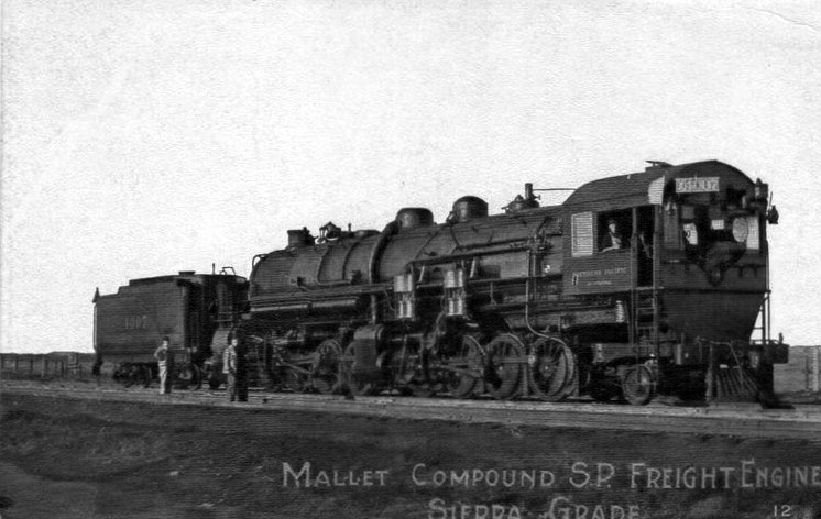 File:Southern Pacific Mallet Compound locomotive.JPG ...