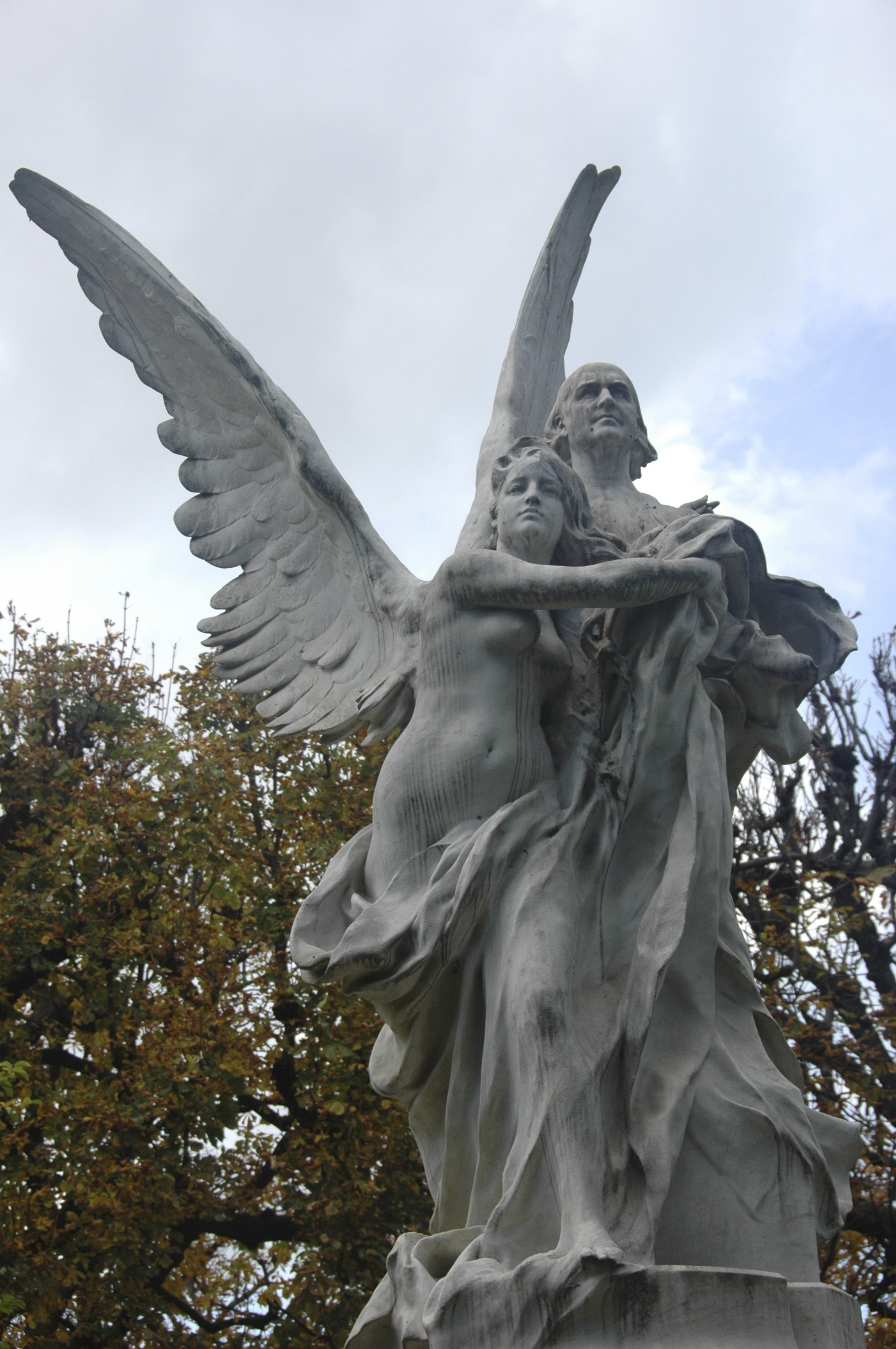 File statue de leconte de lisle par denys puech au jardin for Au bout du jardin