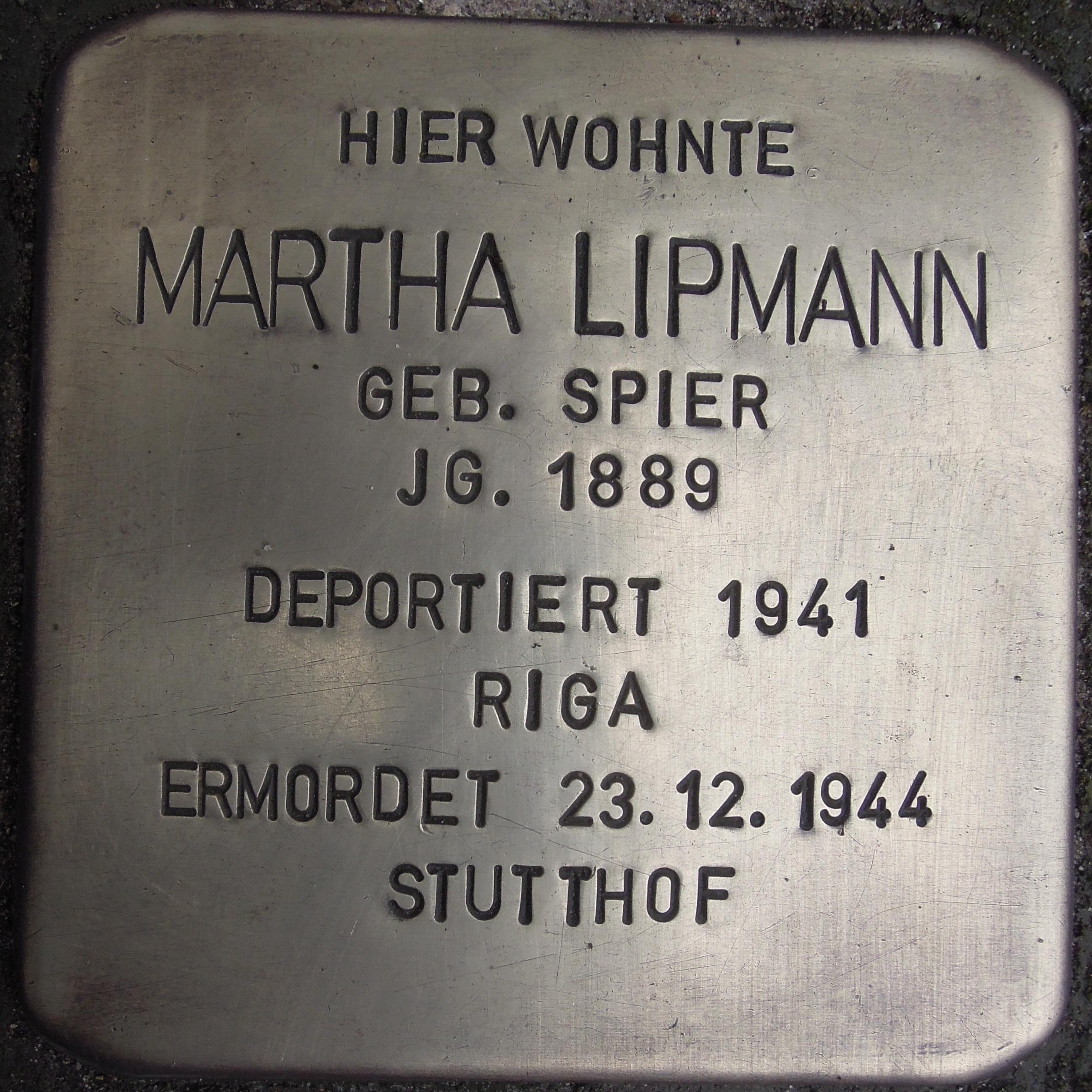 https://upload.wikimedia.org/wikipedia/commons/5/50/Stolperstein_Stolzenau_Bahnhofstra%C3%9Fe_13_Martha_Litmann.jpg