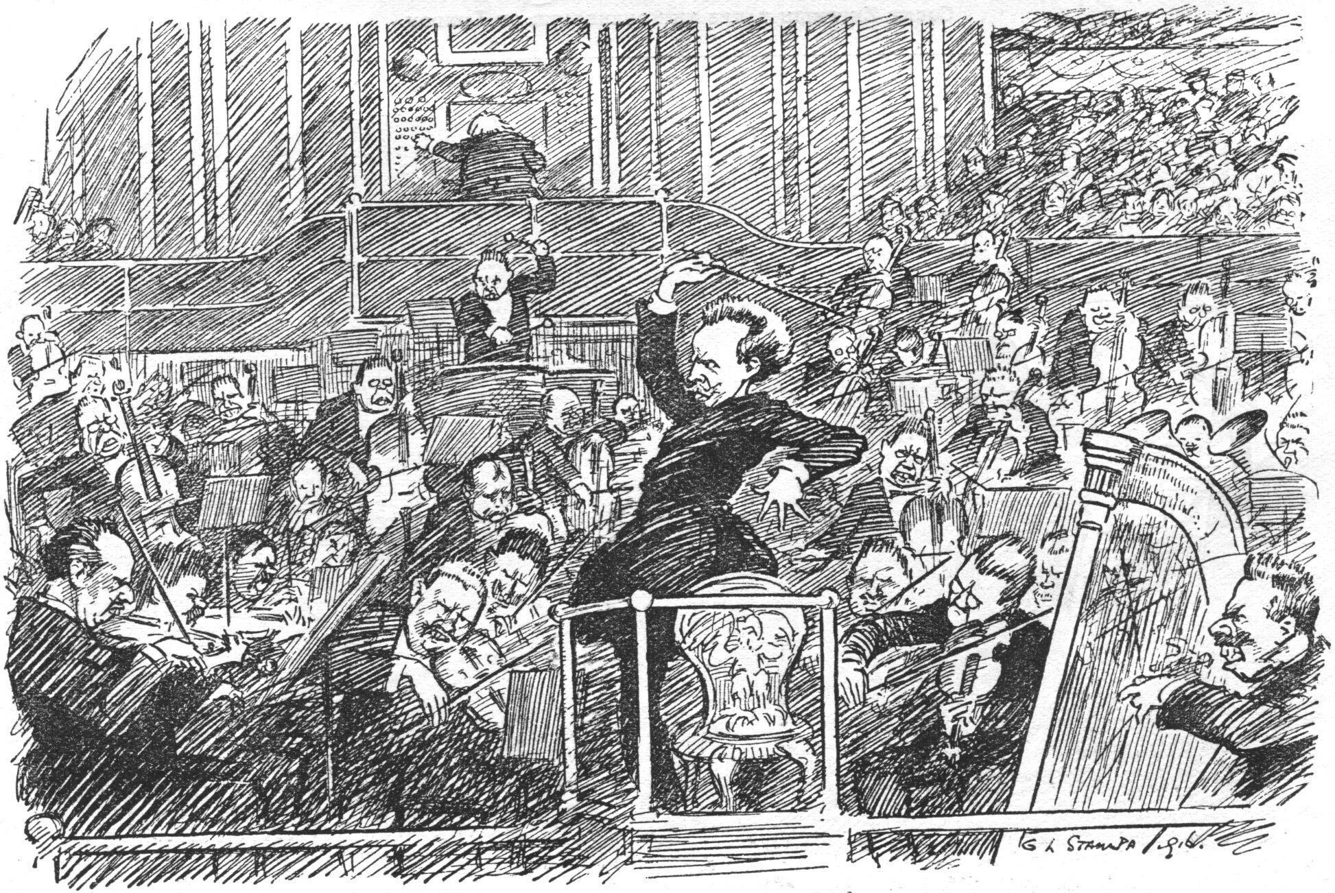 Image result for richard strauss cartoon
