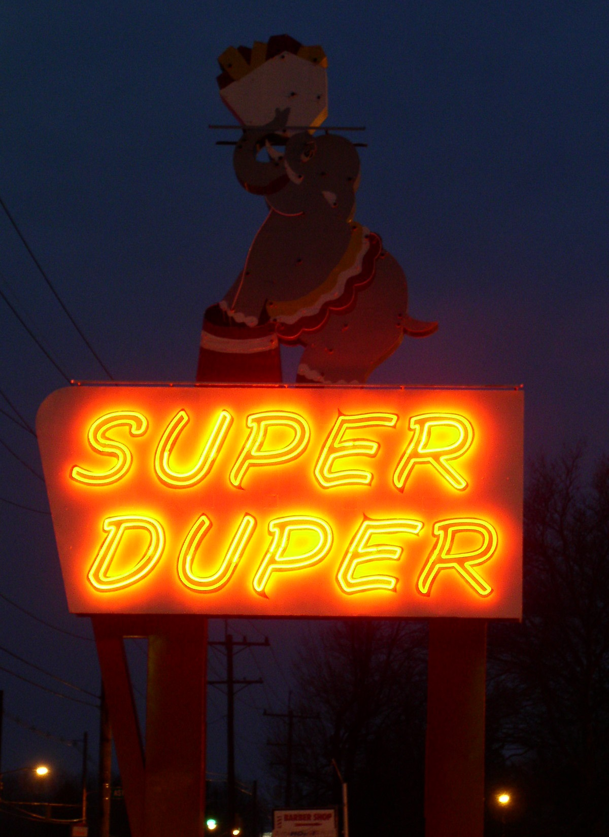 duper super wikipedia james sign ohio columbus supermarket road wiki imgur
