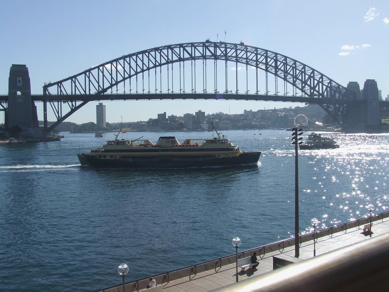 Datei:Sydney Harbour Bridge from the Opera House.jpg ...