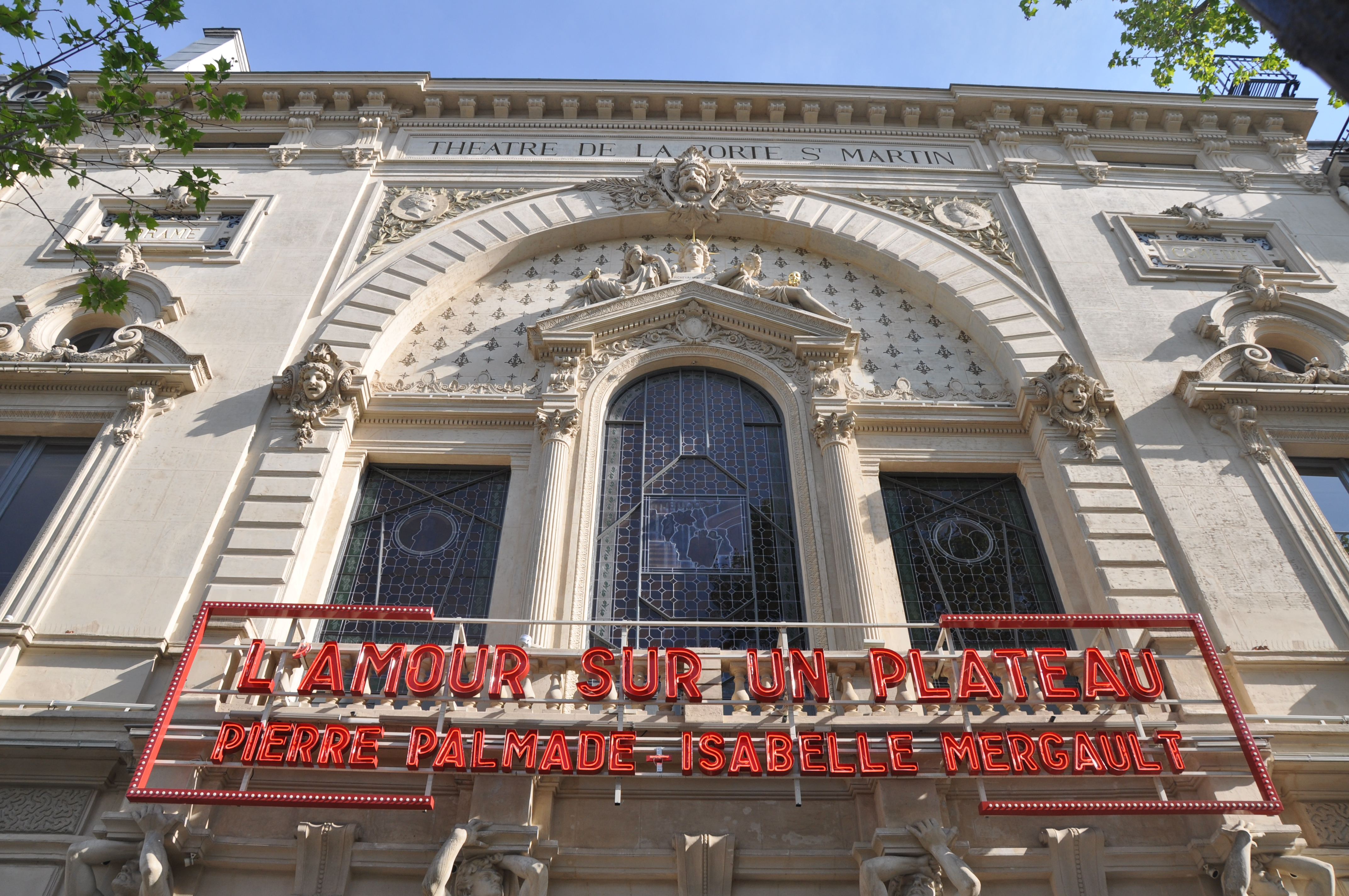 File th tre porte saint martin jpg wikimedia commons - Theatre de la porte saint martin 75010 paris ...
