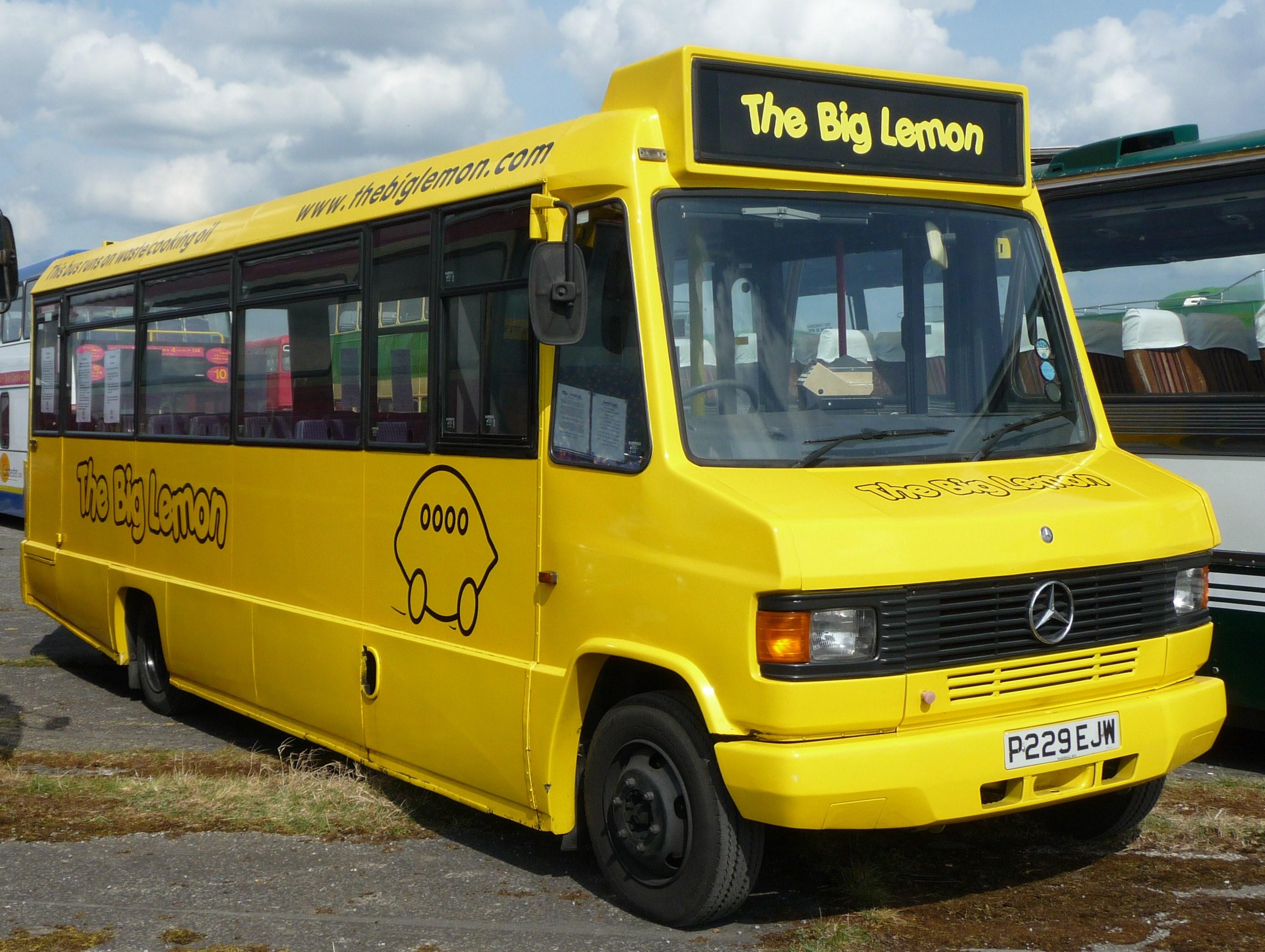 *檸檬有益皮膚健康,黃檸檬巴士更有益地球健康!:The Big Lemon! 4