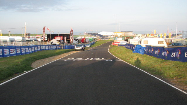 The Finish Line - geograph.org.uk - 848024