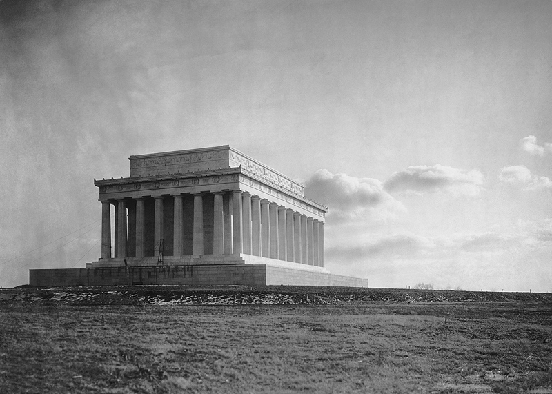 File The Lincoln Memorial 1920 Jpg Wikimedia Commons