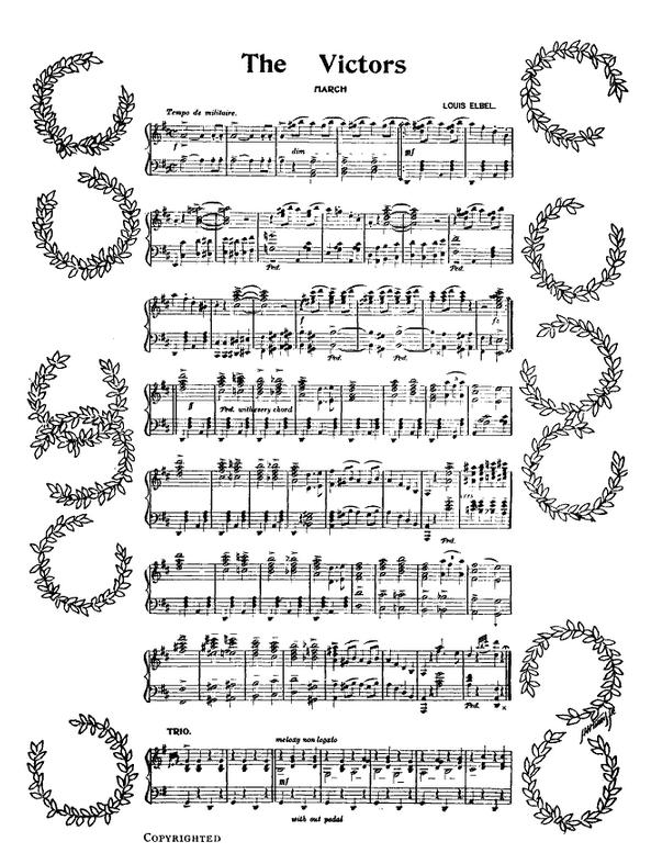 michigan fight song sheet music