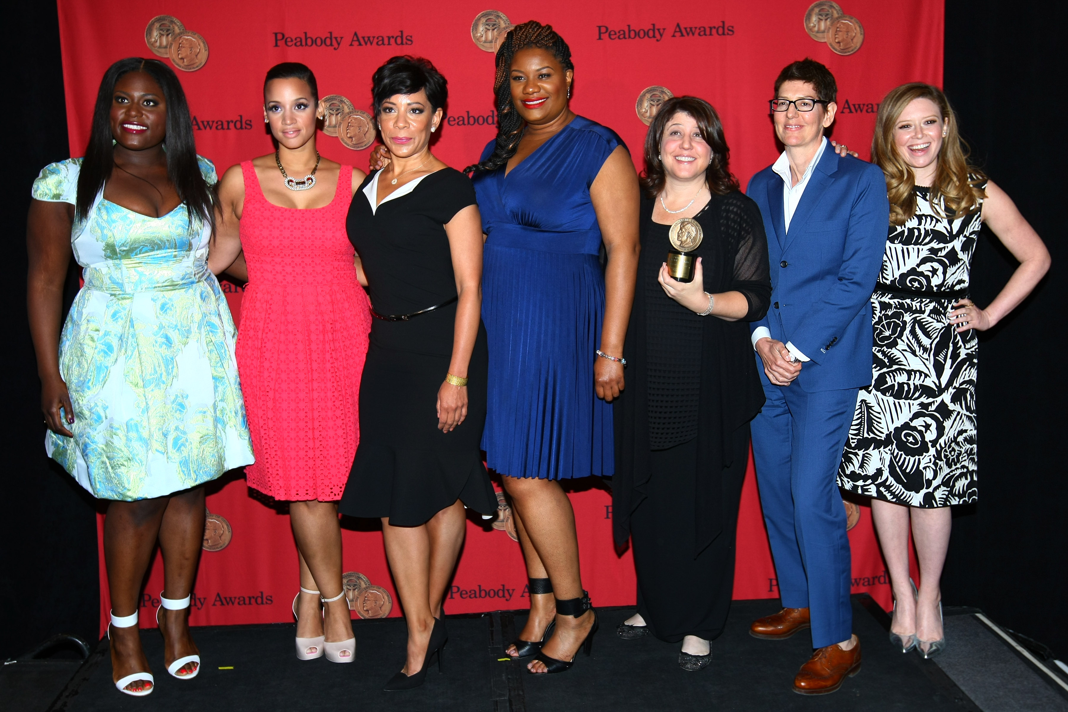 File the cast and crew of 39 orange is the new black 39 2014 - Rosa tannenbaum ...