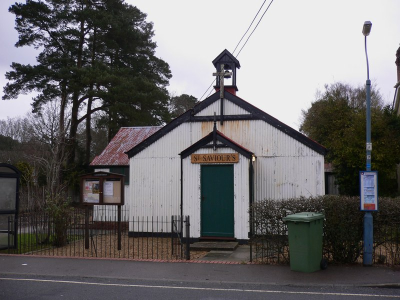 Tin tabernacle in Liss Forest - geograph.org.uk - 1722412