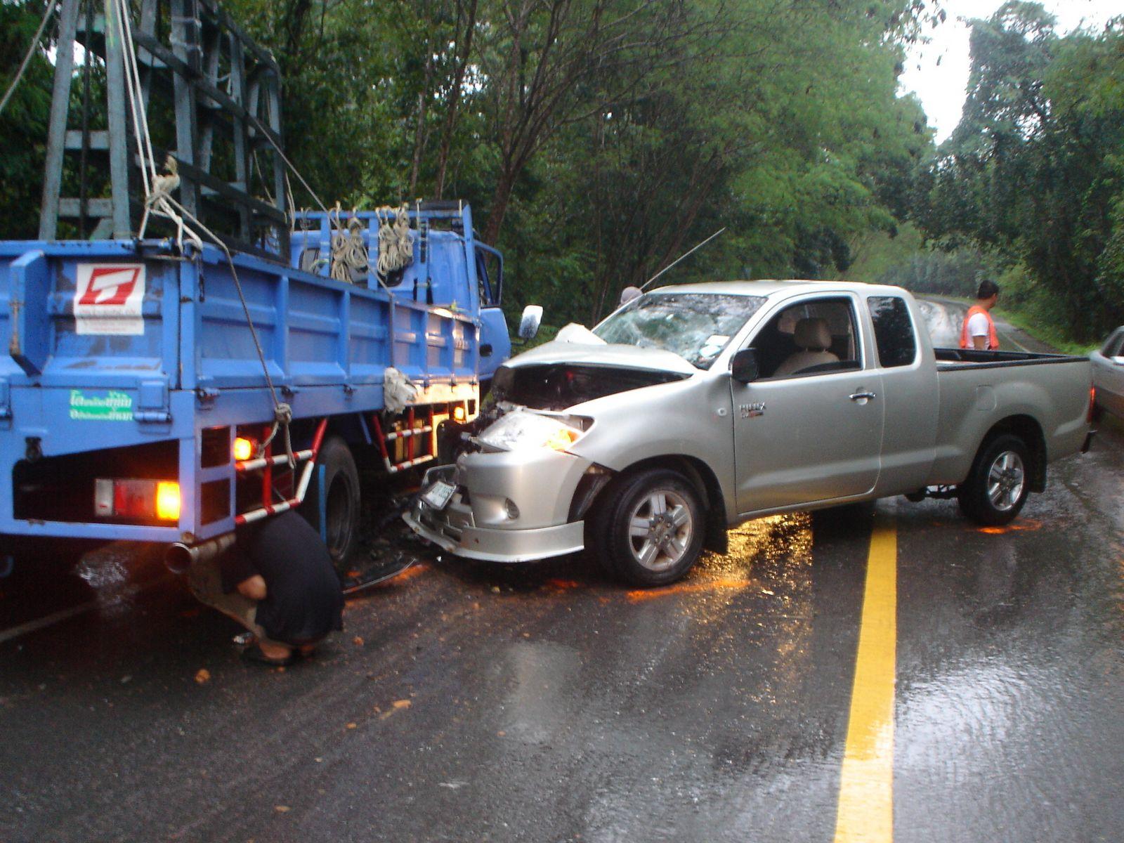 Thailand Car Accident