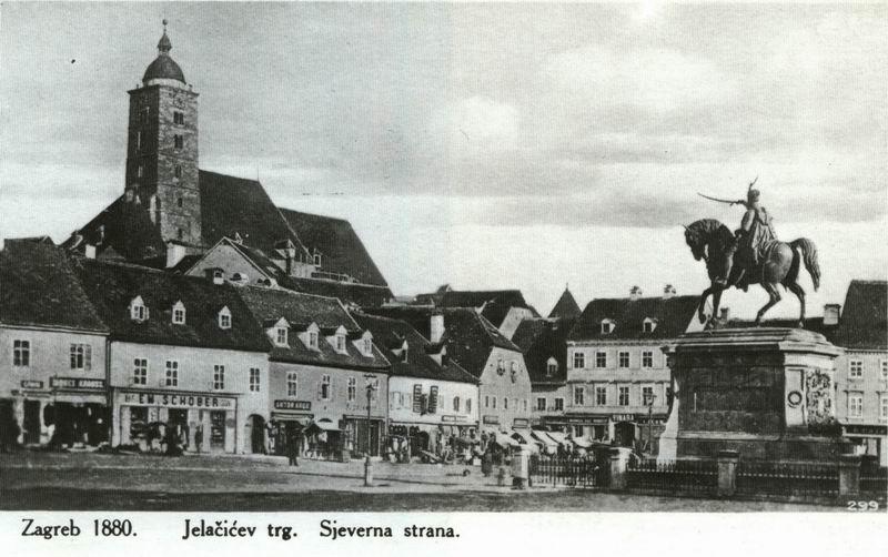 Gradovi starih dobrih vremena  Trg1880
