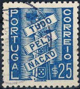 Tudo pela Nação (sêlo de correio, 1935)