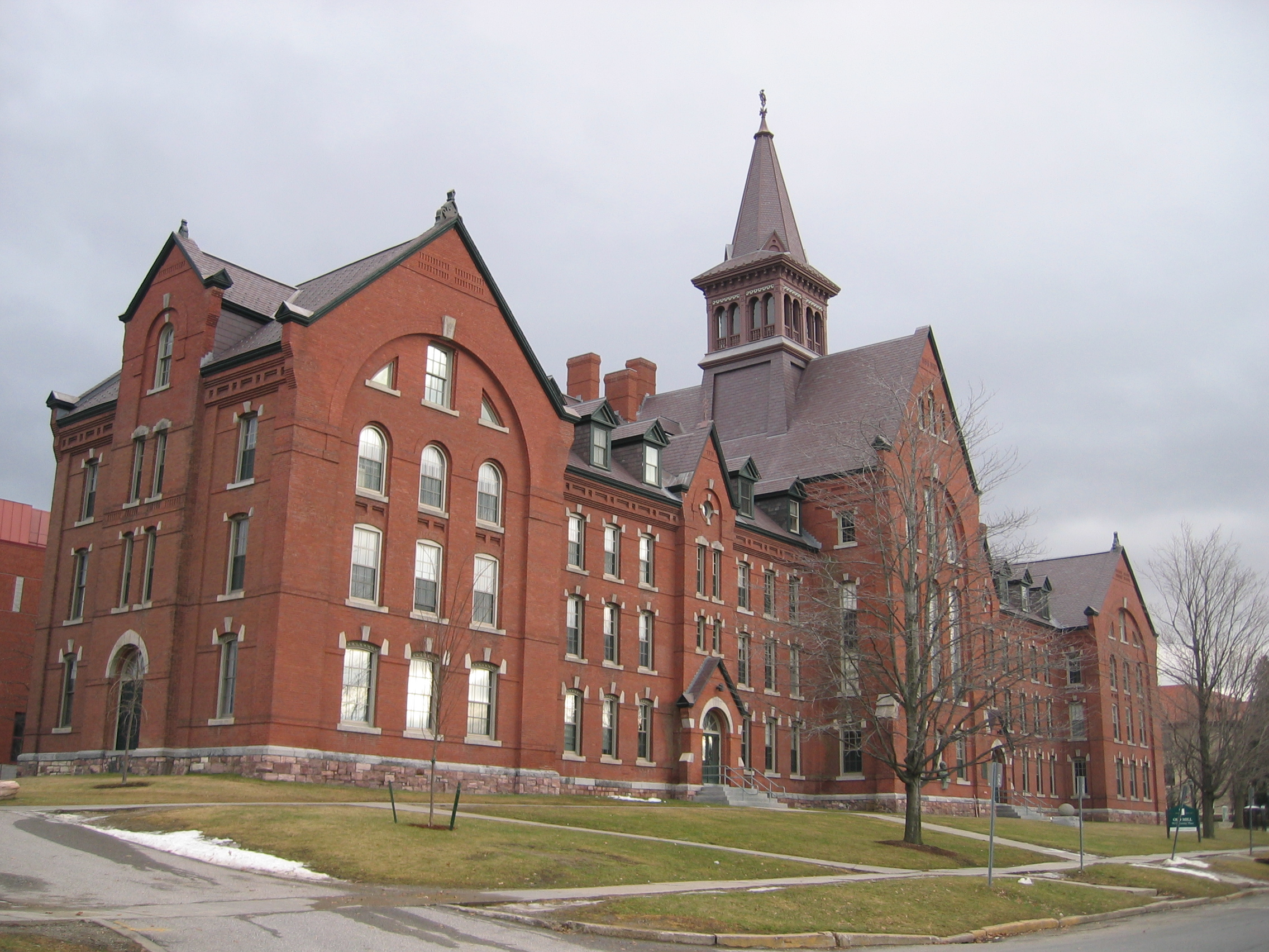 The University of Vermont Old Mill, the oldest building of the university