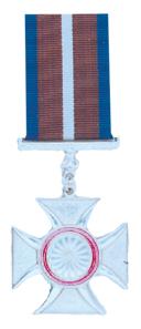 Gallantry Cross, Silver