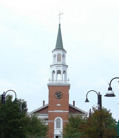 Unitarian Church, Burlington, Vermont