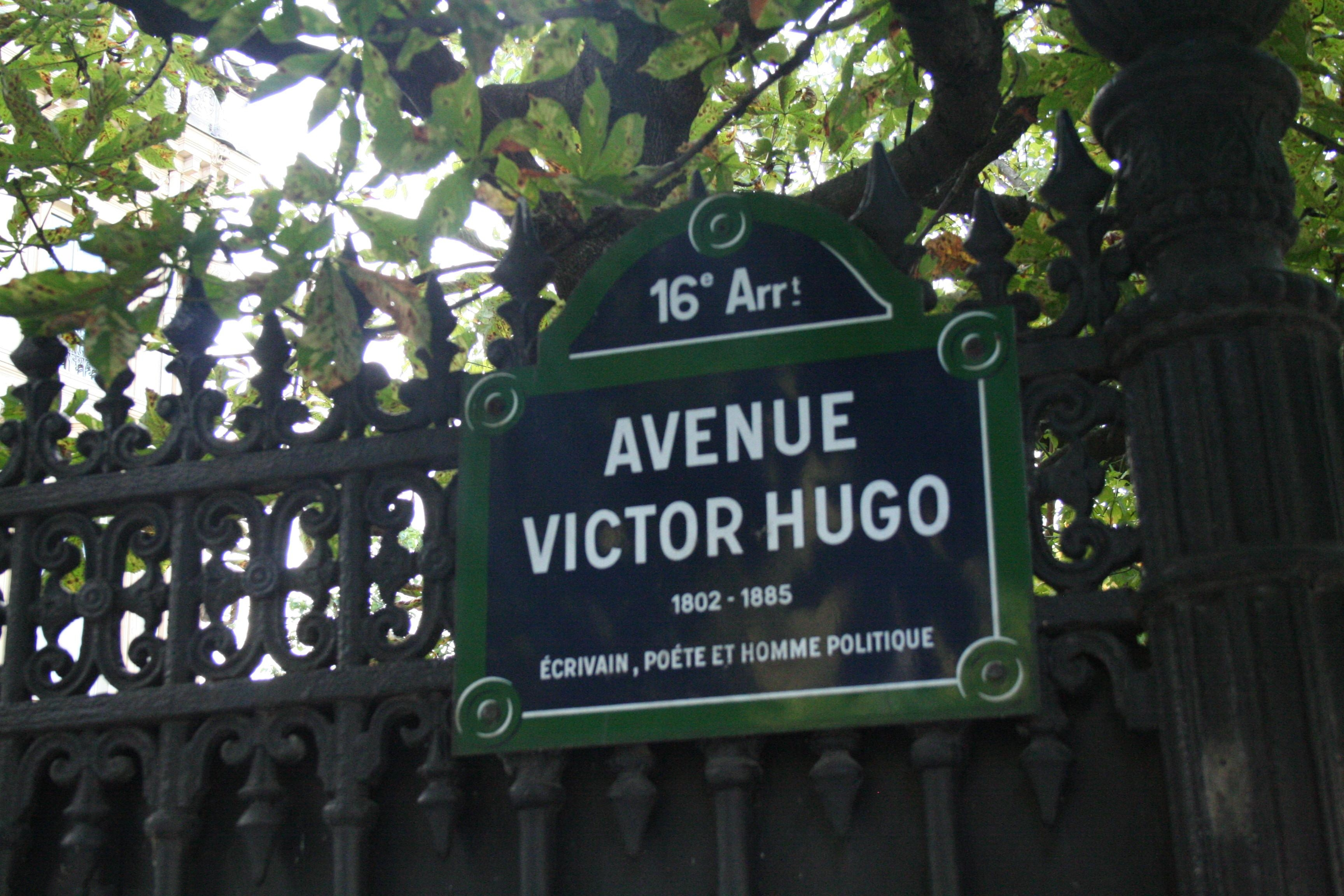 Avenue Victor-Hugo in Paris.