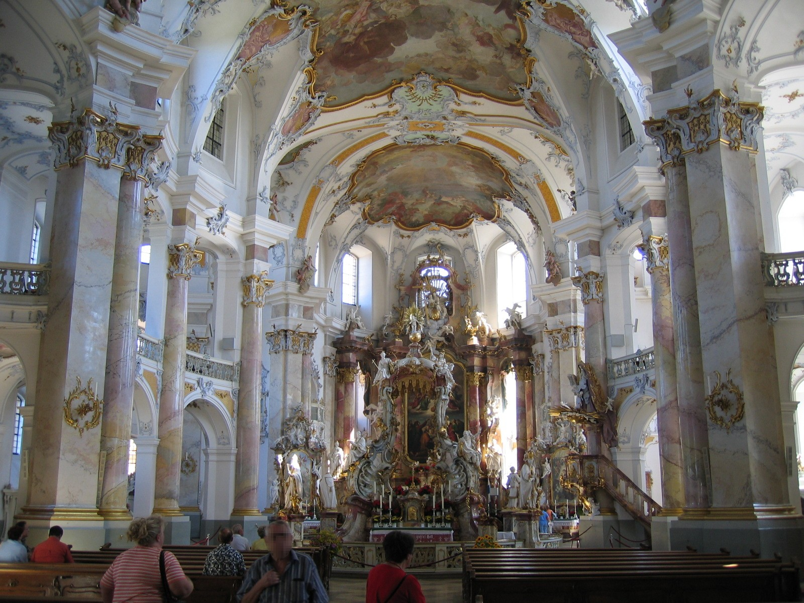 Culture mechanism vierzehnheiligen for Baroque style church