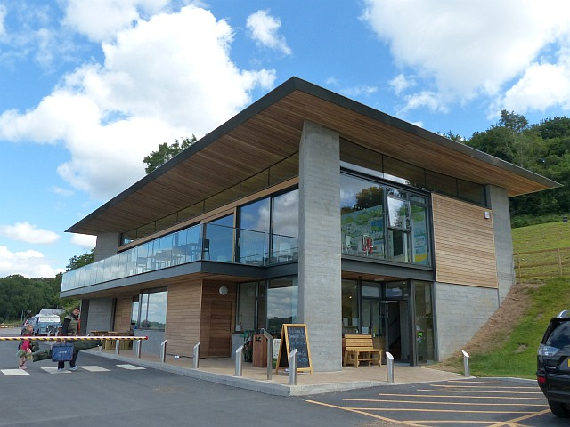 Visitor centre and café, Llandegfedd Reservoir - geograph.org.uk - 4592201