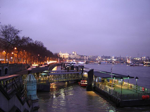 Westminster pier 1