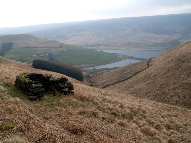Woodhead Reservoir - geograph.org.uk - 383523