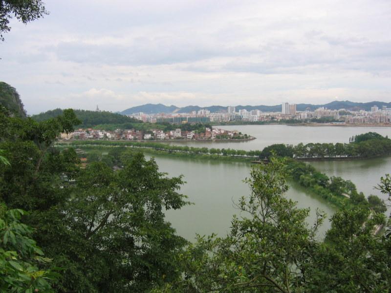 Zhaoqing Wikipedia - Zhaoqing map