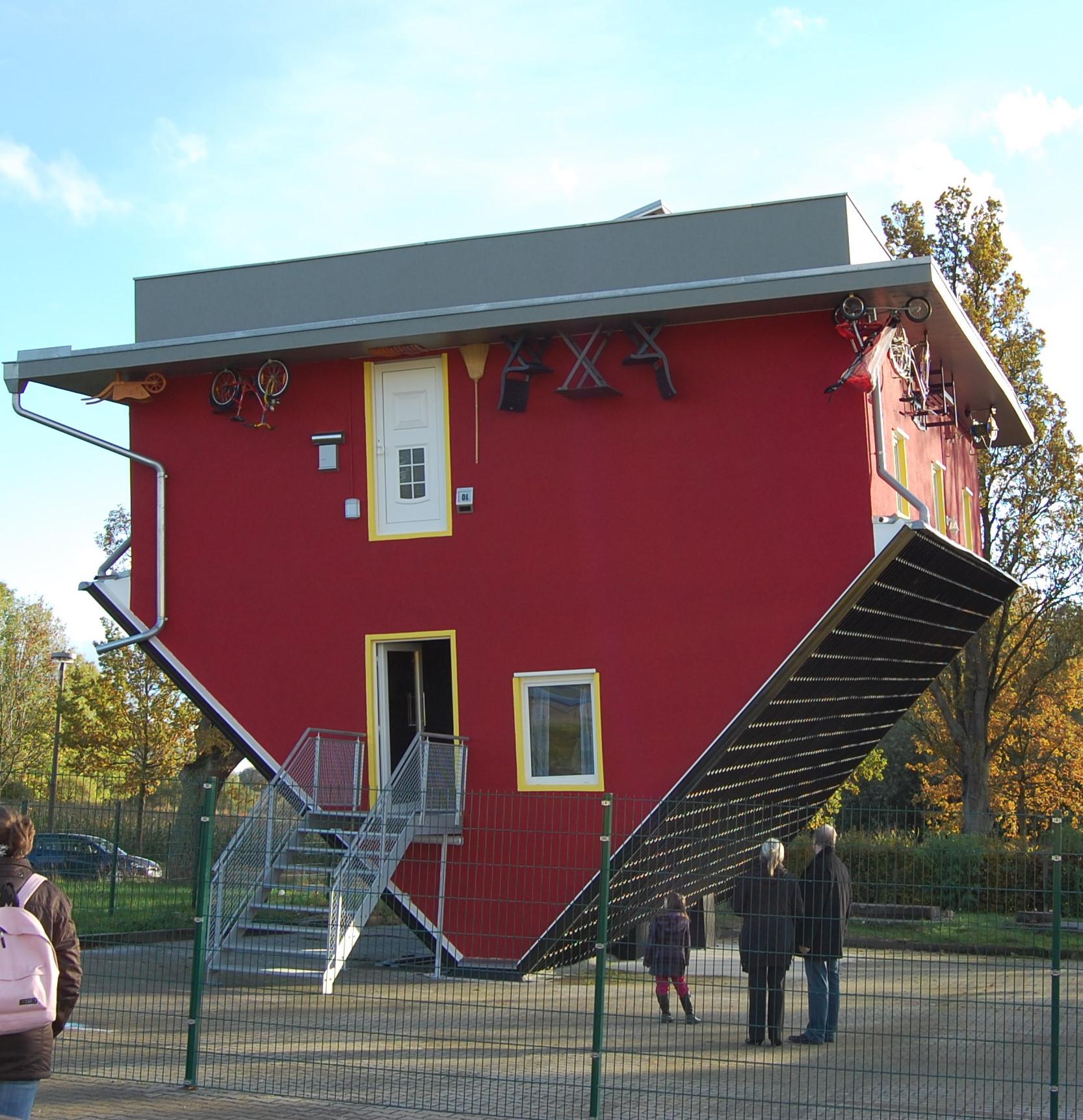 Haus zeichnung  Haus-Kopf-über – Wikipedia