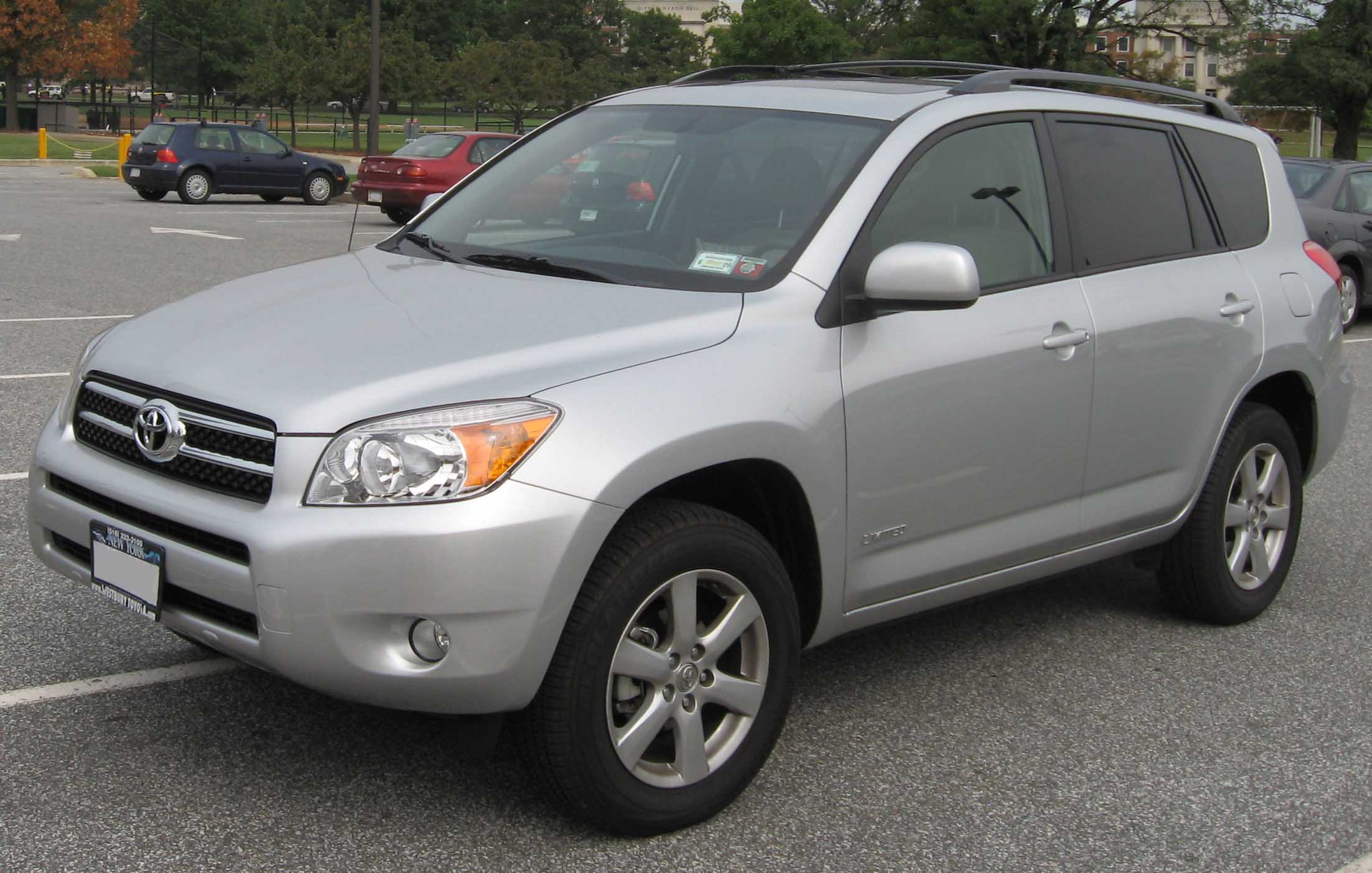 File 06 08 Toyota Rav4 Limited Jpg Wikimedia Commons