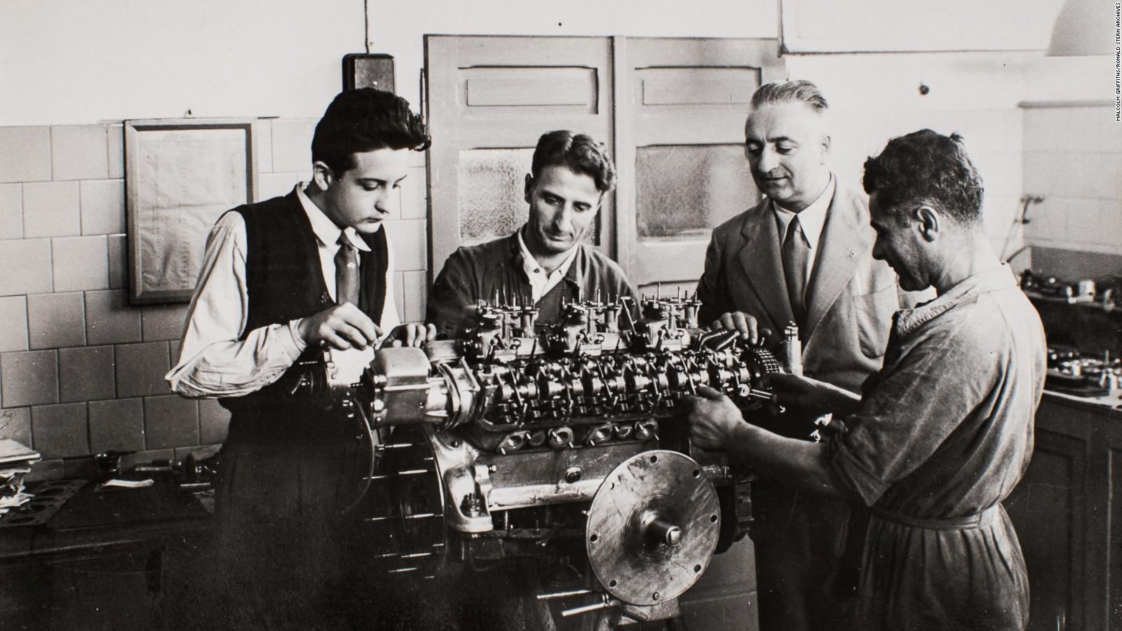 File 1947 Enzo Ferrari Engine Dept Jpg Wikimedia Commons
