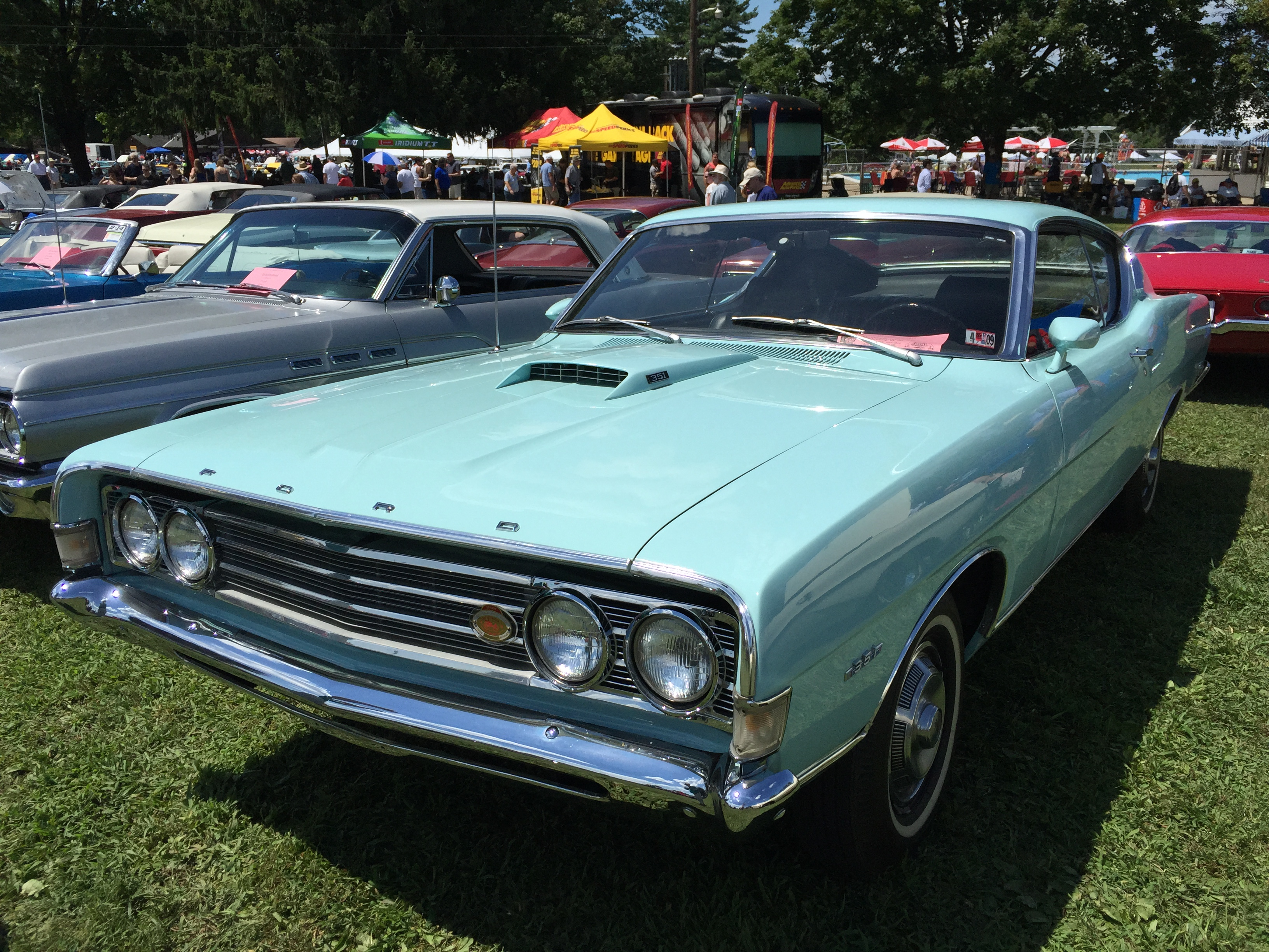 File1969 Ford Fairlane 500 Sportsroof Fastback At 2015 Macungie 1969 Muscle Cars Show 1of2