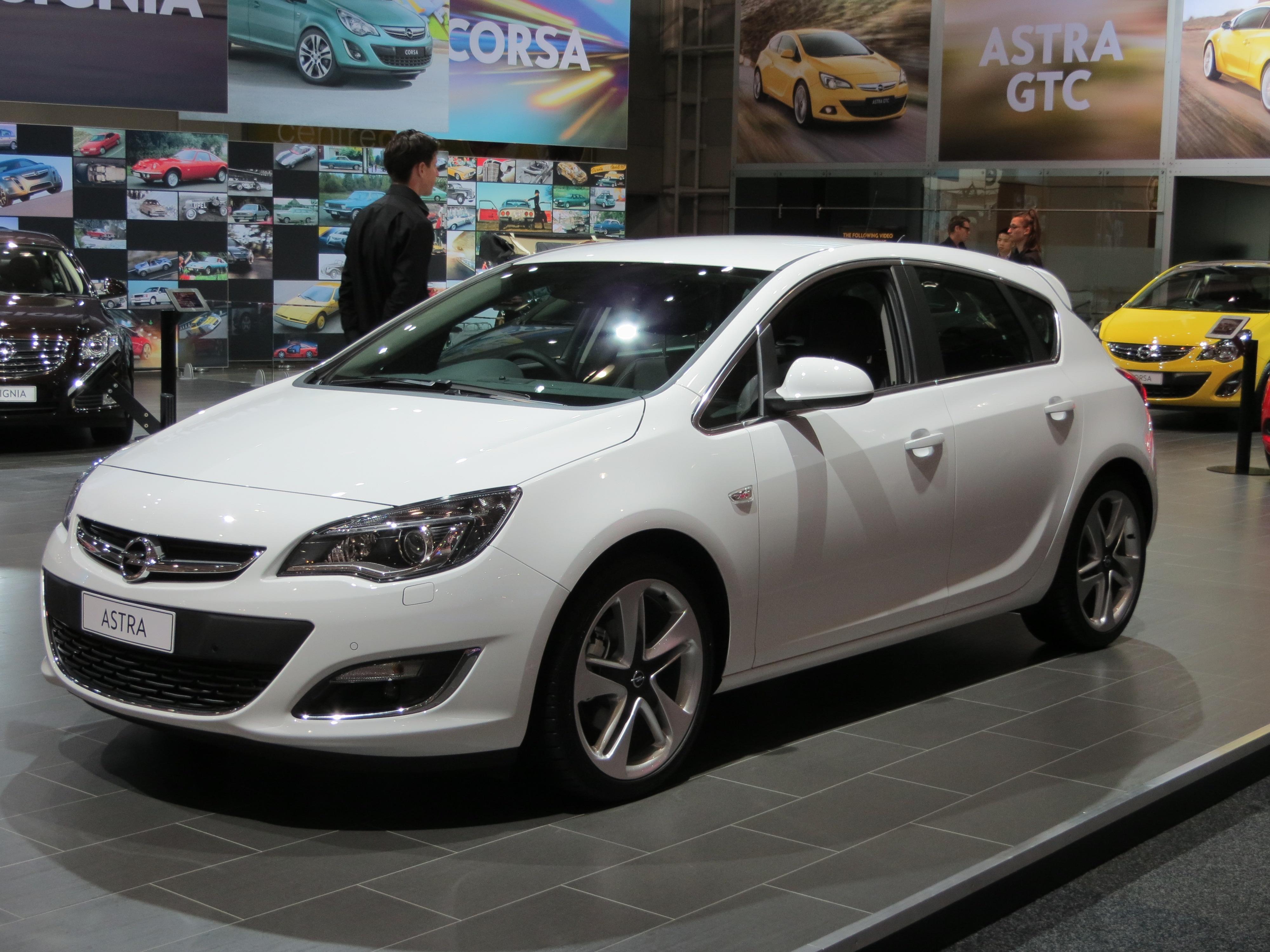 Nice File:2012 Opel Astra (AS) Sport 5 Door Hatchback (2012